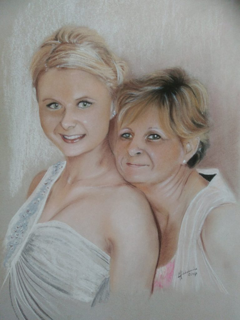 Mania_córka z córką